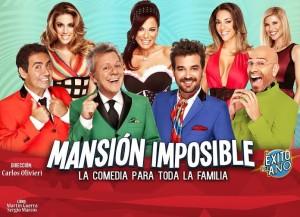 La comedia Mansión Imposible en Posadas el 24 de Julio