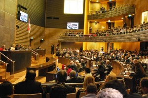 Tomó estado parlamentario la nómina de candidatos a jueces