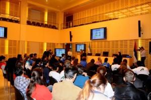 Talleres del Parlamento Estudiantil conjugan la realidad con la virtualidad