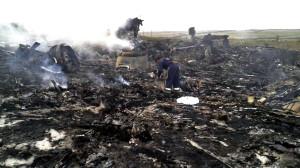 Las fotos de la tragedia del vuelo de Malaysia Airlines