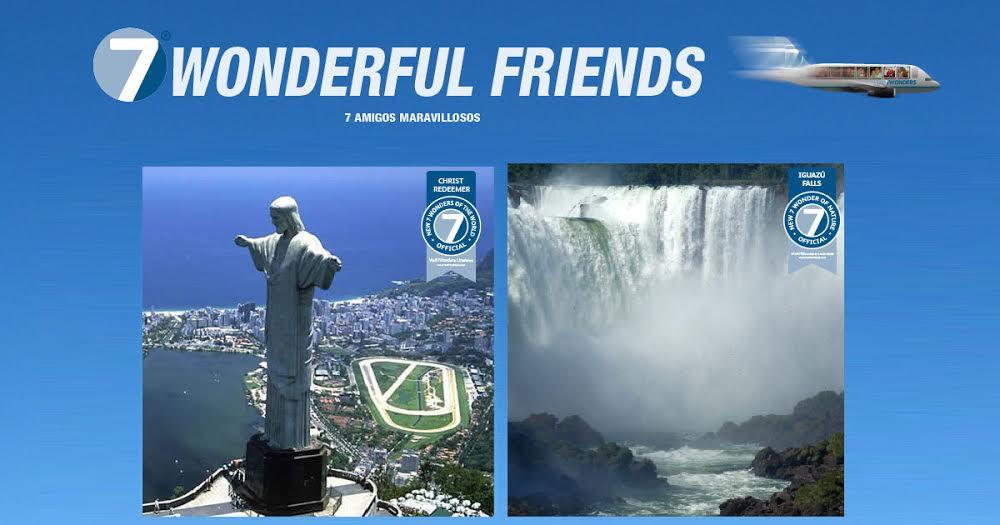 Visit7Wonders lleva a 7 amigos a conocer dos Maravillas del Mundo con todo pago