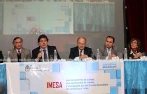 Sileoni presentó el Índice de Mejora de la Educación Secundaria Argentina (IMESA)