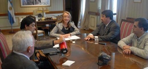 Closs y Alicia Kirchner articularon acciones para la reconstrucción tras las inundaciones