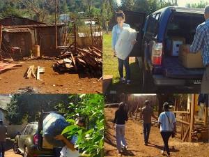 UGD, IPESMI y la Fundación Sí entregaron donaciones en El Soberbio