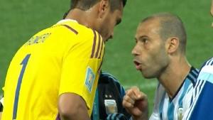 """Mascherano a Romero: """"Hoy vos te convertís en héroe"""""""