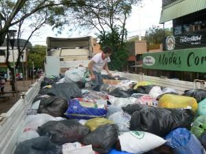 Inundaciones en Misiones: desde Eldorado enviaron donaciones a Colonia Aurora