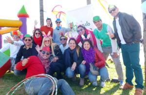 Amistad y buena onda con el Changuito Solidario en otro domingo a pleno sol en la Costanera