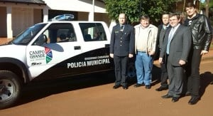 Campo Grande: primera comuna de Misiones en crear la Policía Municipal