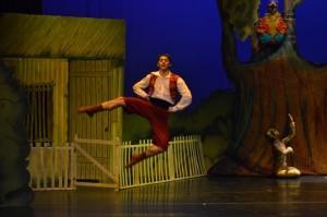 Clase abierta de danzas en Teatro de Prosa