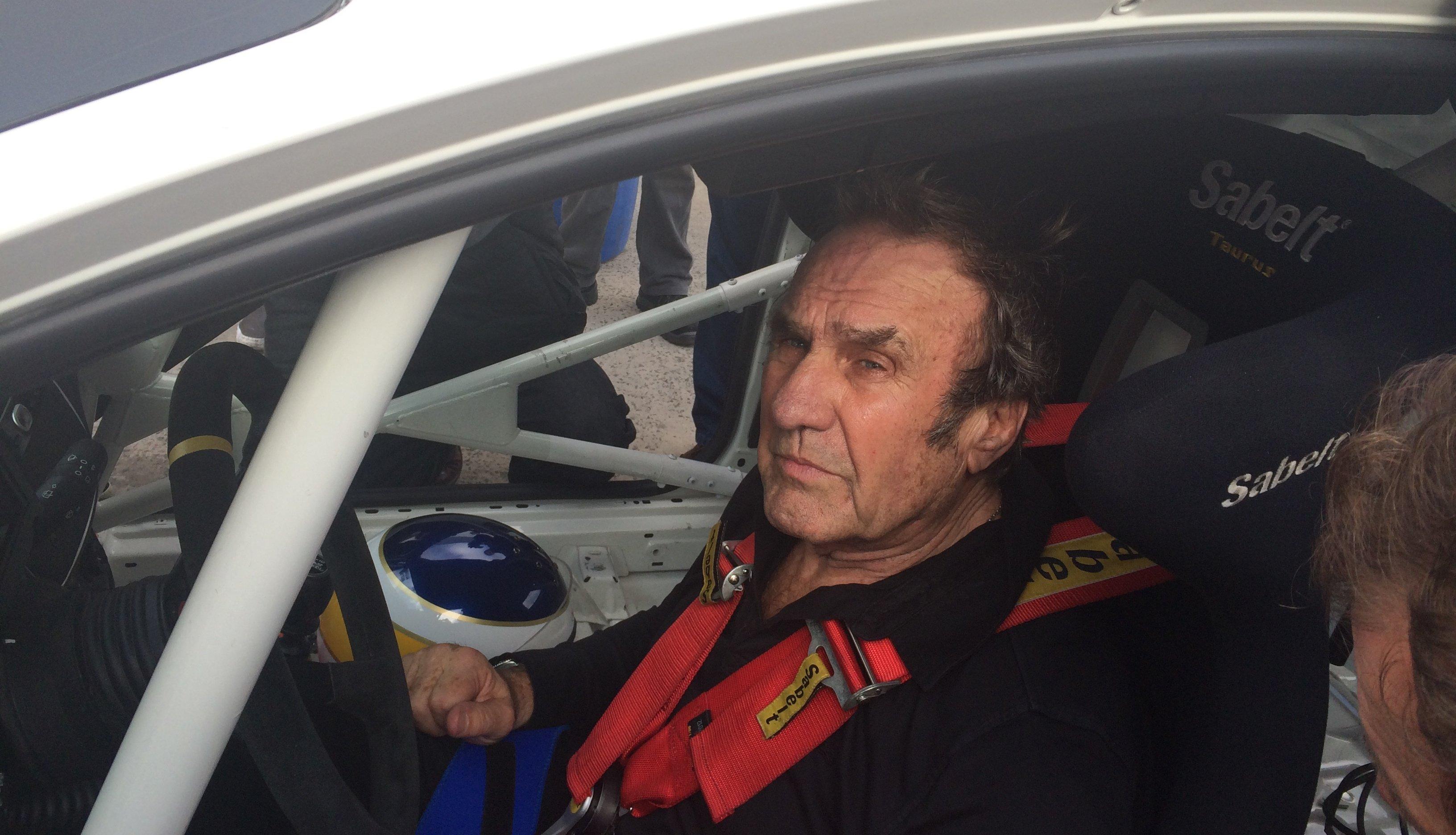 Después de 30 años, Reutemann volvió a las pistas
