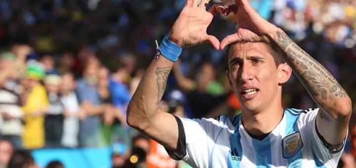 """Di María sufrió una lesión """"leve"""" y solo fue descartado ante Holanda"""
