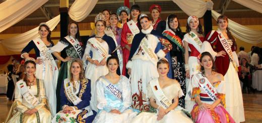 Fiesta del Inmigrante: las Reinas de las colectividades se presentaron ante la sociedad