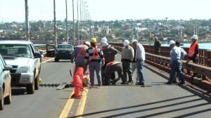 Realizarán obras de mantenimiento sobre el puente internacional San Roque González