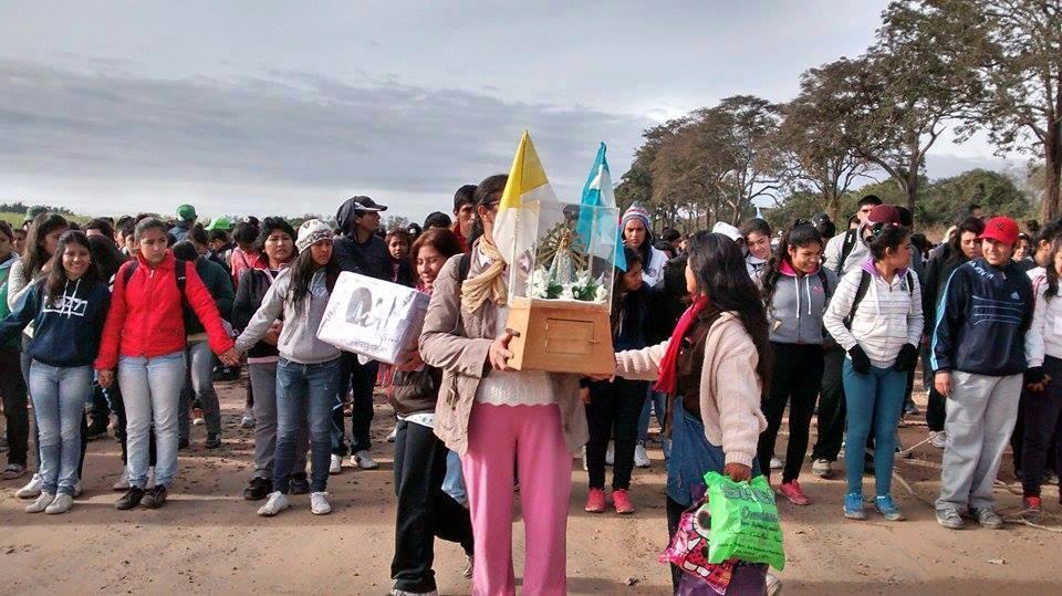 La Virgen de Luján busca el clamor de las comunidades para la gran asamblea nacional de Cáritas en el 2015