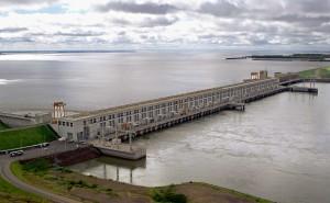 Ritmo de bajante en el río Paraná