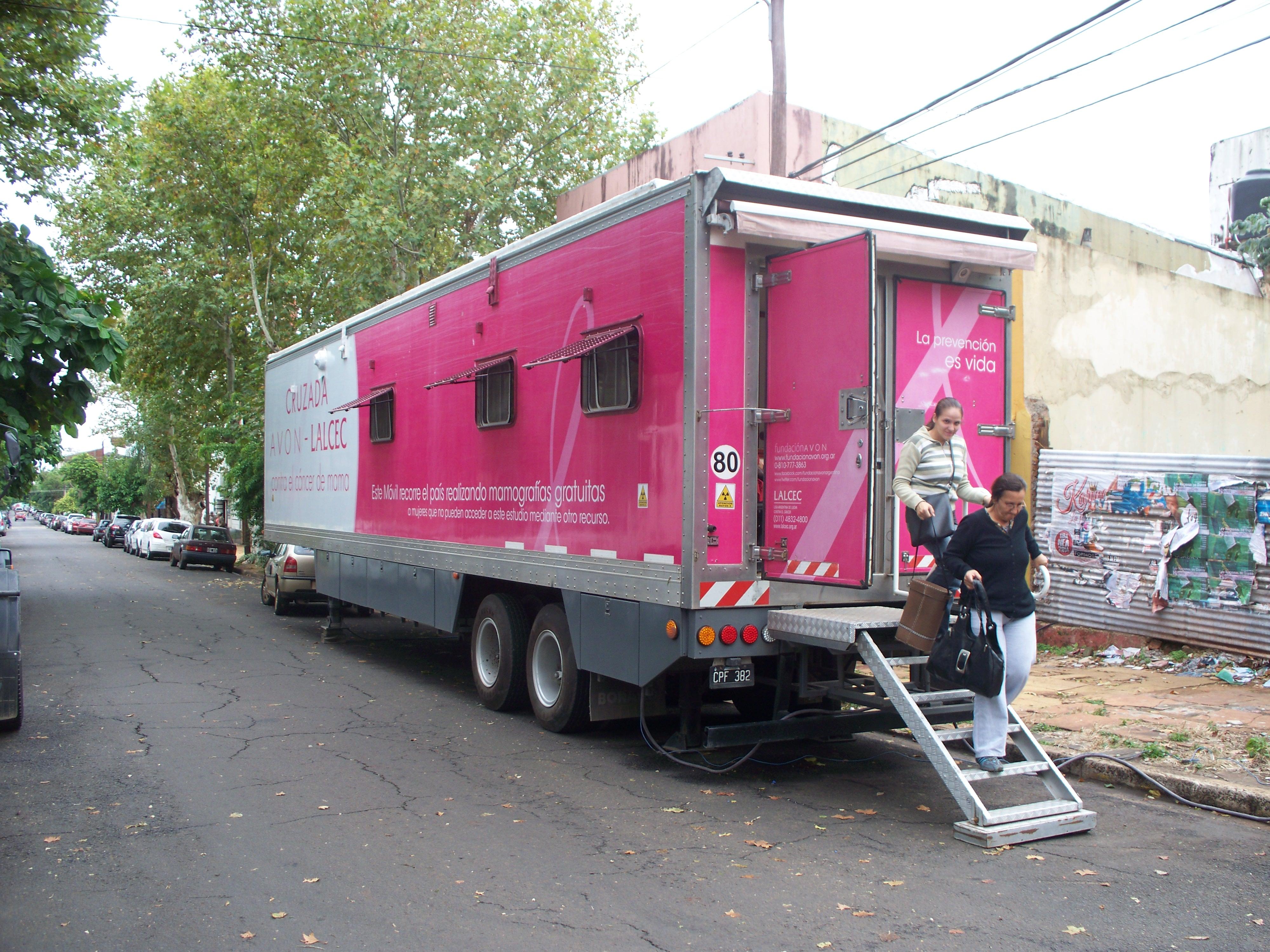 Retiro de mamografías en Lalcec