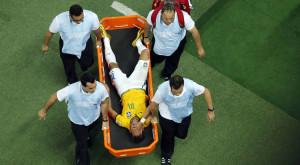 Neymar fuera del Mundial por vértebra fracturada