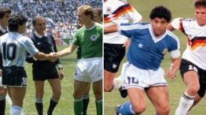 ¿Como en el 86 o el 90? Qué camiseta deberá usar la Argentina ante Alemania