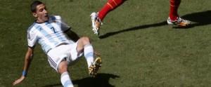 Hoy se conocerá la gravedad de la lesión de Di María: temen un desgarro que lo margine del resto del Mundial