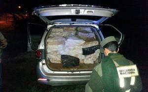 Secuestran más de tres toneladas de marihuana: hay cuatro detenidos
