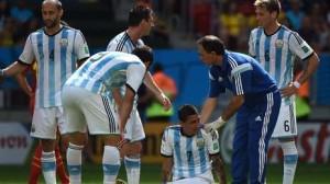 Di María, un dolor de cabeza para Argentina