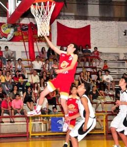 Básquet: un misionero seleccionado para un campus NBA con los mejores del continente