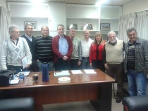 La Comisión Directiva de APTM recibió en su sede al Vicegobernador de la Provincia
