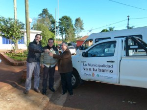 """Wanda cuenta con una camioneta 4x4 para """"La Muni va a tu barrio"""""""