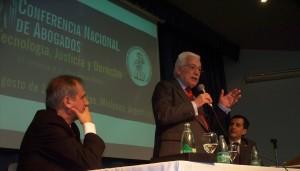 """Conferencia nacional de Abogados: Sergio Ferraz planteó """"construir una nueva ciudadanía de América del Sur"""""""