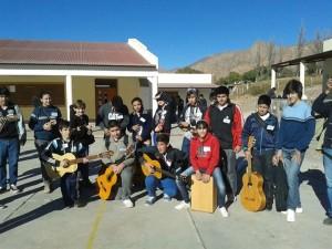 Jóvenes misioneros participaron del Encuentro Musical De CAJ en Tilcara