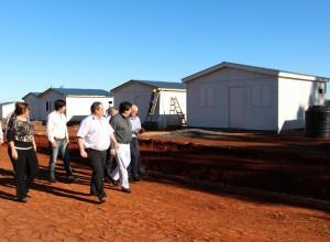 Closs destacó que los damnificados por la creciente del Uruguay tendrán una mejor calidad de vida