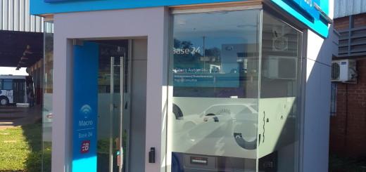 Banco Macro inaugura un cajero automático en Oberá