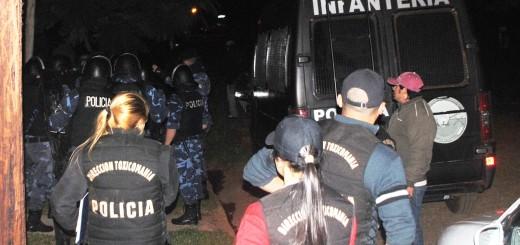 Cuatro detenidos y marihuana secuestrada tras un allanamiento en Posadas