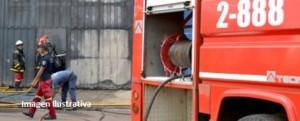 Incendio destruyó por completo una carpintería en Alba Posse