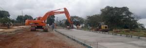 Avanzan las obras del Parque Lineal Cainguás en Aristóbulo del Valle