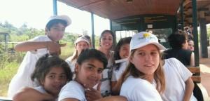 Un grupo de chicos del Hogar de Día de Posadas conoció las Cataratas