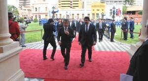 Closs participó de la cumbre entre Cristina y Cartes en Asunción