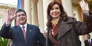 Cristina y Cartes confirmaron obras para dar mayor potencia a Yacyretá