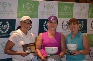 Golf: Bárbara García y Sonia Tarnowski se impusieron en Camelias