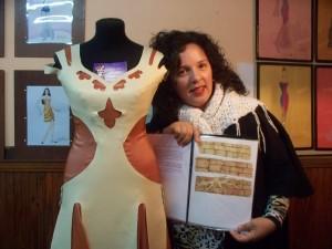 Débora Zucco, de chica vestía a las muñecas, ahora sueña que sus diseños lleguen a Europa