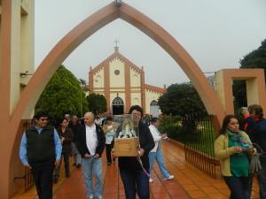 Se despidió de Misiones la imagen de la Virgen bendecida por el Papa Francisco