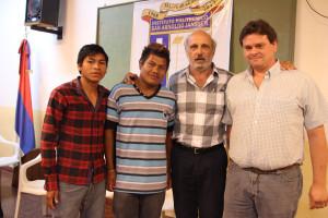 Guaraníes en la escuela: Reinaldo nunca abandonó y Fabián avisó que se mudaba