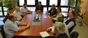 El intendente de Posadas recibió a funcionarios de distintos países del Mercosur