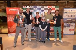 Golf: en Oberá festejaron Guillermo Hartfield y Sonia Tarnowsky