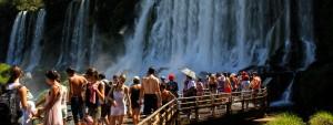 Las Cataratas del Iguazú volvieron a ser elegidas en el fin de semana largo