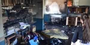 """Incendio de la escuela A 4: """"Los chicos tendrán que reparar la escuela para que vean el daño causado y reflexionen"""", dijo el juez Giménez"""