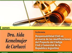 Pospusieron conferencia de la jurista Aída Kemelmajer para el 16 de septiembre