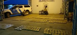 Interceptan una carga de marihuana y detienen a tres personas en Ituzaingó