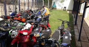 Motociclistas sin registro ni seguro, una constante en los operativos en la Zona Centro