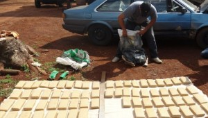 Sorprenden a un brasileño con un cargamento de marihuana y cocaína